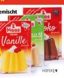 Puddingpulver von Haas