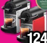 Nespresso Kapselmaschine EN124.R Pixie Electric Carmin von DeLonghi