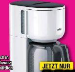 Filterkaffeemaschine KF3120 WH von Braun
