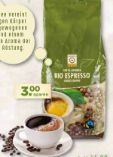 Bio Kaffee Espresso von Natürlich für uns