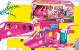 Reise Traumflugzeug mit einer Puppe von Mattel