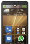 Smartphone M5 von Beafon