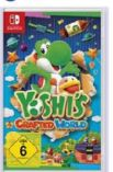 Yoshi's Crafted World von Nintendo Switch
