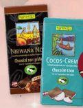 Bio-Schokolade von Rapunzel