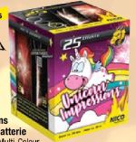 Unicorn Impressions Fontäne-Batterie von Nico Feuerwerk