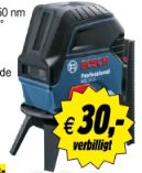 Kreuzlinien-Laser GCL 2-15-RM 1 von Bosch