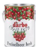 Preiselbeerkonfitüre von Darbo