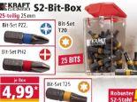 S2-Bit-Sets von Kraft Werkzeuge