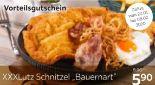 XXXL Schnitzel Bauernart von XXXLutz