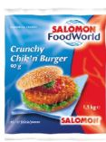 Crunchy Chik`n Burger von Salomon Food World