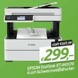 Schwarzweißdrucker EcoTank ET-M3170 von Epson