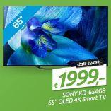 OLED-TV KD-65AG8 von Sony