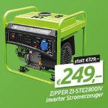 Inverter Stromerzeuger ZI-STE2800IV von Zipper