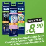 CrossAction Bakterienschutz von Oral-B