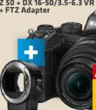Z 50 + DX 16-50/3.5-6.3 VR + FTZ Adapter von Nikon