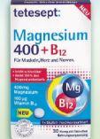 Magnesium 400+B12 von Tetesept