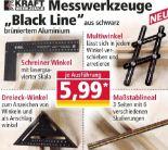 Messwerkzeuge Black Line von Kraft Werkzeuge