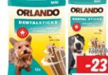 Hunde Dentalsticks von Orlando