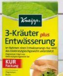 3-Kräuter Entwässerungskapseln von Kneipp