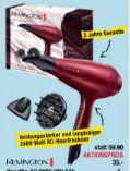 Haarfön AC 9096 ION Silk von Remington
