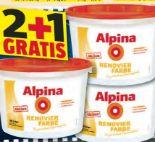 Renovierfarbe von Alpina