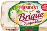La Brique Ziegenkäse von President