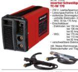 Inverter-Schweißgerät TC-IW 170 von Einhell