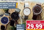 Holz-Armbanduhr Slim Line von Chronique