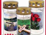 Grablichter von Hofer Kerzen
