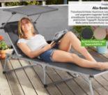 Aluminium-Sonnenliege von Florabest