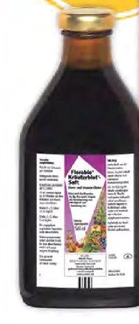 Florabio Kräuterblut-Saft von Salus