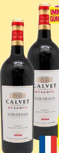 Reserve Bordeaux Rouge von Weingut Calvet