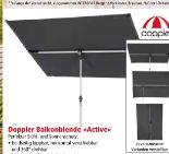 Balkonblende Active von Doppler