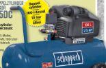 Profi-Doppelzylinder Kompressor HC105DC von Scheppach