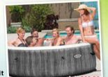 Whirlpool Pure Spa 77 Bubble Massage von Intex