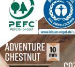 Laminatboden Edition Vinto Adventure Chestnut von Logoclic