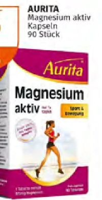 Magnesium Aktiv von Aurita