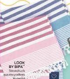 Strandtuch von Look by Bipa