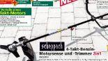 Takt-Benzin-Motorsense-Trimmer PBC32TC4 von Scheppach