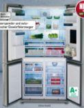Kühl-Gefrierkombination SBSQ 4460-1 X von Elektrabregenz