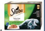 Katzennassnahrung von Sheba