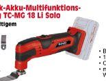 Elektronik-Akku-Multifunktions-Werkzeug TC-MG 18 Li Solo von Einhell