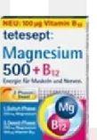 Magnesium 500 + Vitamin B12 von Tetesept