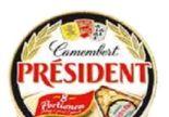 Camembert Portionen von President