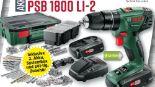 Akku-Schlagbohrschrauber PSB 1800 LI-2 von Bosch