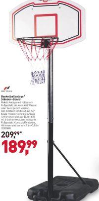 Basketballanlage-Ständer+Board von Pro Touch