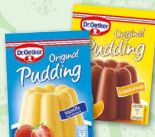 Pudding von Dr. Oetker