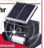 Ultraschall-Solar Vogelabwehr von Gardigo