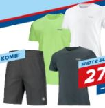 Lauf Kombi Basic Short-Shirt von Benger