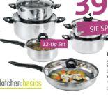 Kochtopf-Set Sevilla von Kitchen Basics